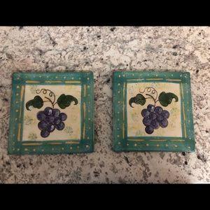 Grape Trivets